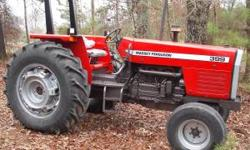1988 Massey Ferguson 399 farm tractor. 6cylinder Perkins diesel, 90 PTO HP, 12X4 transmission, dual remotes. Good tires, recent paint, new seat, a real nice tractor $12000 cash obo Located near Carrol