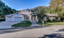 Property recently appraised at $1,300,000; see supplements for the appraisal. Standard sale. Beautiful custom Romani built home in the Gold Hills region of northern Monrovia. Property is located on a