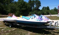 For sale is a 4 place ski / pontoon trailer 1200. (as seen in the picture) FIRM no trades email, text or call 863-899-0958 // //]]> Location: Winter haven