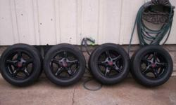 I have 4 Firebird rims with more recent tires. The tires have about 500 miles on them. They are in fantastic shape and the rims are really nice looking. These prepare to be mounted and driven on! The