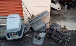 Note see my other ads on this site: also have 40, 48, 50 hp Johnson evinrude 89-2001 parts running powerhead, trim and tilt assy, lower units w 17 and 19 spline driveshafts. JUST GOT IN 5 LOWER UNITS,