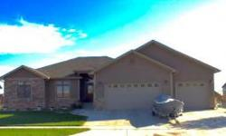 OPEN HOUSE 7/12 1-4 pm Ranch Style Family Home.Wide open floor plan great for entertaining. 4 bedrooms, an office with hardwood floors, 3 bath, daylight basement with 9ft ceilings, wet bar with granit