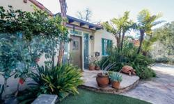 A Claremont Village treasure. A rare find that embodies the timeless appeal of Spanish architecture and Claremont Village living. Once featured on the Claremont Heritage Annual Home Tour, the house wa