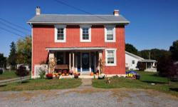 A charming brick colonial built in the late 1800's. Many updates have been done yet the old time charm still remains. There are new windows and the walls have been re-studded with new insulation. Wiri