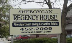 Sheboygan Regency House Doneff Companies LLC 919 Wisconsin Ave Sheboygan, WI 53081 [920] 452-2009  Welcome to Sheboygan Regency House one of the finest Independent Senior and Mature Adult Living commu
