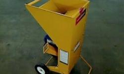 """Please read the link on Amazon below for all specifications. This chipper will not take thick branches. It has a 1 1/5"""" diameter chipper chute. Up for sale is a slightly used 5.5 HP Gas Powered Chippe"""