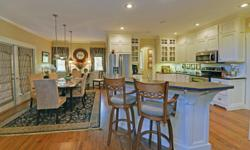 Fabulous 'CRAFTSMAN INSPIRED' ~5Bed/4.5Bath Home Is TRULY A MASTERPIECE! 5 ACRES with End of the Road Privacy is Located in GATED Community of WALNUT MOUNTAIN! The Kitchen-A COOKS DREAM- Loads of Cabi