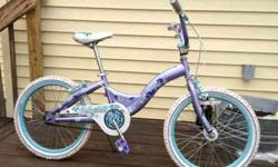I've got a Schwinn Deelite girl's bike with 20-inch wheels (it fit my daughter when she was 7). This has a coaster brake as wheel as front and rear caliper brakes--all are in good working order. Has a