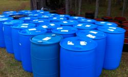 plastic and metal/ steel 55 gallon drums , food grade  only $25 ea !!  delivery available  904 955 3829  yalc7512@ yahoo . com