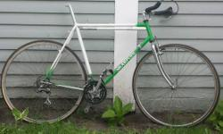 Call if you have to ask a concern about it or have a REASONABLE offer. Bike made in Mankato by Mark Skarpohl. Everything you have to know you must have the ability to see in the pictures other than th