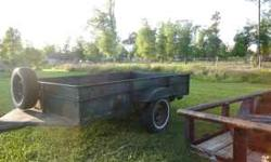 For Sale or trade for boer goats,or spanish goats.6x10 all metal trailer.409-882-4813 Location: Orange,Tx.