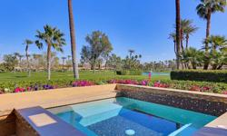Be a part of one of the desert's finest country club communities. This beautifully appointed Desert Horizons home offers approximately 3,400 sq. ft. of gracious desert living. Overlooking double fairw