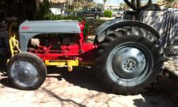8N FORD TRACTOR, GOOD RUNING TRACTOR. THE 3 POINT AND THE PTO WORK ,12 VOLT SYSTEM $2900 SOLD THIS TRACTOR COMES WITH -DISC -BOXSCRAPER -FROUNT LOADER -3POINT LISTER FURRWMAKER CALL AT 559-306-2600 JU