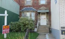 19xx Cottman Ave. Nice Block Spacious industrial row residence which has above 1150 sqft Quality selection for office and locate on busy cottman opportunity Extremely close to school, residential, ban