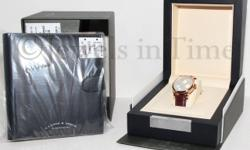 A. Lange & Sohne Lange 1 Daymatic 18k Rose Gold Watch Box/Papers NEW 320.032