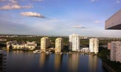 An incredible double-PH in the heart of Aventura. Two full 3 bedroom units combined resulting in one gorgeous residence featuring 4 large bedrooms, a family room, an office/den, 2 fully equipped kitch