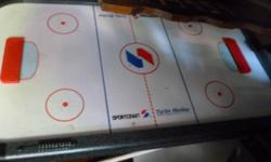 Sports Crafts Turbo Air Hockey  Table    $30.00  o r best offer   needs legs.  call  show contact info      in great shape