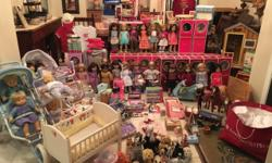 Total of 41 dolls. All have been gently played with by one child and sold as is. Girl of the Year dolls: 2001 Lindsey (no red barrette) 2003 Kailey 2005 Marisol 2006 Jess 2007 Nicki 2008 Mia 2009 Chri