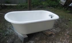 For sale is my other halves antique cast iron claw foot tub that has actually been in her household for over 60 years. It was made in Feb. 20, 1923 by S.S.M. Co. P.W. USA. It is a 5 ft. P Standard rol