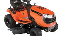 The Ariens 42 in. 21 HP Briggs and Stratton Automatic Gas Front-Engine Riding Mower is built around a powerful pressure-lubricated engine and offers a smooth, rugged, automatic transmission with lever
