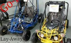 Recon Cycles is the place you need to stop for all your Christmas needs. We have new Go Kart's,Dirt Bikes, Atv's and Smart Balance Wheel for people of all ages. Recon Cycles offers a 90 layaway and Fi