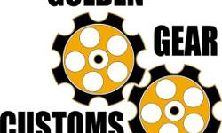 Golden Gears Custom Garage Shop 205-331-5556 Cell 205-799-0708 Cell 205-394-8006 9310 Highway 43 N. Northport, AL,35473  Hours: 8:00 a.m. - 5:00 p.m. Monday - Friday 8 a.m. - till Close. Saturday  WE