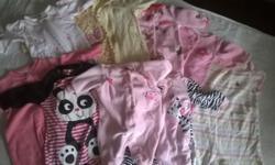 Boy Onesies-2 Newborn Girl Onsies-8 5-8pounds 34 newborn 1 0-3 month Girl Dress Onsies-2 Newborn Girl Foot Pajamas-1 Premi 9 newborn 1 6-12 month Girl Shirts-3 Premi 4 Newborn Girl sweatpants and shir