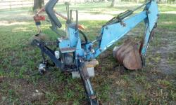 "For sale a ""Woods"" ground breaker backhoe in good condition. $3200.00. Please call Jack @ 850-380-3000. // //]]> Location: Baker, Fl"