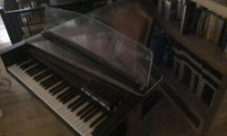 """Baldwin harpsichord same as used in Beatles recording of """"Because"""" this is a vintage instrument frist reasonable offer will take it Google it to see its worth."""