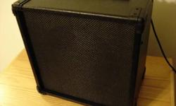 Excellent condition, barely made use of and adult kept. Amp is 25 watts and has jacks for headsets and line out. Any questions? Please ask.