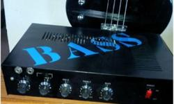 MAKE OFFERBOUTIQUE CUSTOM C100 super reliable 100watt Bass amplifier head.C-100 CUSTOM BASS AMPLIFIER HEADFEATURES:Audio Output Transformer with taps!Puts out 100 watts RMS! Has Two inputs and two out
