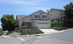 Situated on a corner lot with Delta views. 3 bedrooms and 2 baths upstairs. One bedroom and full bath downstairs. Huge master suite with one walk-in closet and two additional closets. Clean with upgrades. Close to the Bart and the Oakhills Shopping