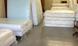INVENTORY-CLEARANCE SALE EVERYTHING MUST GO !!! MATTRESS SETS all sizes SERTA, SEALY, and SIMMONS !!! FACTORY DIRECT NEVER BEEN IN A HOME NOT USED !!! FIVE YEAR WARRANTY ON SOME MODELS !!! Can DELIVER