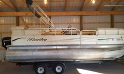 2004 Bentley 20 ft cruise with 2004 Mercury 50 2 stroke. Boat is loaded..changing room..Bimini top..cd player..beverage table..double axle trailer(50 HP MERCURY WITH POWER TRIM. Boat has low hours and