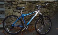 "Bicycles for Sale  Raleigh Technium road bike - Aluminum - 12 Speeds - 25"" Frame - Very light - $125.00  Schwinn Overland ladies crossbike - 21 Speeds - 17"" Frame - $125.00  Schwinn Comp. Mt bike - 19"
