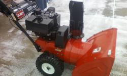 TORO SNOWBLOWER, 824 Powershift, Electric Start *** EXELLENT CONDITION, And It Run's GREAT *** POWER SHIFT is a system that allows the user to move the drive axle / wheels rearward with just the push