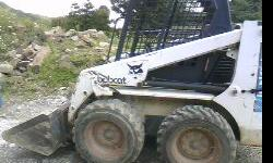 ROPS CANOPY, GP BUCKET, TIRES AROUND 50%, SERVICED READY TO GO