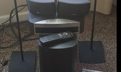 Bose 321 System. Originally Paid $1,000 (stands was not included in price)Included:2 speakers2 speaker stands (purchased separately from system, for $119.00 for 2)Sub WooferRemote ControlAll cablesMan