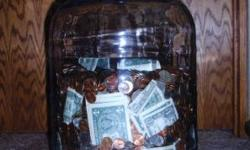 An original Sparklets Water jug, circa 1970. Use for a savings bank, making wine or whatever. See Picture. Does NOT come filled with money. $15 or best offer. PHONE: 509-860-1176. // //]]> Location: W