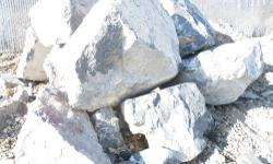 """Gray Limestone Boulders 14 tons delivered within Salt Lake County $849.46 includes tax and delivery. Available in sizes ranging from 18"""" inches to 4' feet. Call Larry or Mike at 801-280-5356. Visit ou"""