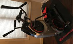 Selling my very gently used Bowflex Max Trainer M5. Used maybe 15 times. Purchased directly from Bowflex with warranty still intact. In perfect working condition, and I will include the Bowflex mat an