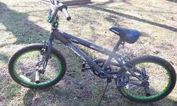 "BRAND NEW BOYS 20"" MONGOOSE OUTER LIMITS BICYCLE, STUNT PEGS, ADJUSTABLE SEAT, POSSIBLE DELIVERY, ASKING $100 CALL OR TEXT 731-926-1310"