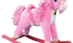 Pink Charm Rocking Horse Brand New, I bought it and put it together to find it to small for my daughter, never used and ready for that gift to make your little girls heart melt. The plush pink horse r