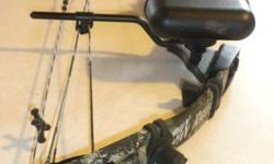 For sale is a Used Browning Micro Midas 3 Compound Bow. Excellent condition. New String (blue and white). Included with the bow: bow mount quiver, Browning sights, Nap quick set rest, Tunerz limb save