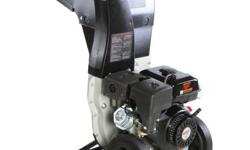 This chipper shredder comes with a brush master 11HP engine. It features a 2-way feed including a discharge chute. This innovative chipper is designed with an adjustable deflector. The deflector provi