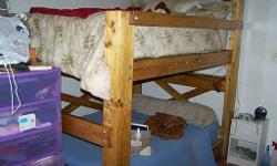 Strong wood bunk beds. Constructed to last. Perfect for dormitory, kids's bedrooms, houses. Excellent for lake or summertime houses. Anywhere extra space is needed. Regional business because 2006. All