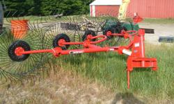 Bush Hog LWR 511 3PT Hay Rake, 5 wheel, New Never Used, Owners manual, phone 814 450 5688. Phone calls only replied to and cash only. // //]]> Location: McKean, PA