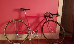 Mens Cannondale Road Race bike Mint condition Special High End components $1000 or best offer 210-833-4402