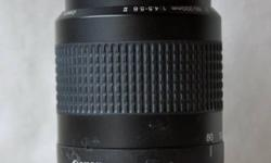 JUST REDUCED FALL SALES At a mere 9 oz, the Canon EF II may seem too good to be true, but this lightweight, budget-priced telephoto lens delivers. This auto and manual camera lens is only 78.5 mm long