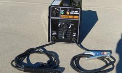 Very good condition, just a few minor scuffs Here is a link for details about this welder: http://www.harborfreight.com/225-amp-ac-240-volt-stick-welder-69029.html Retail Price: $215..................